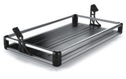 Półka bagażnika srebrna